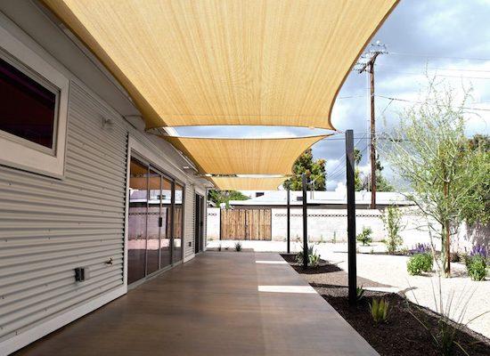 Sail shades | outdoor patio sun shades
