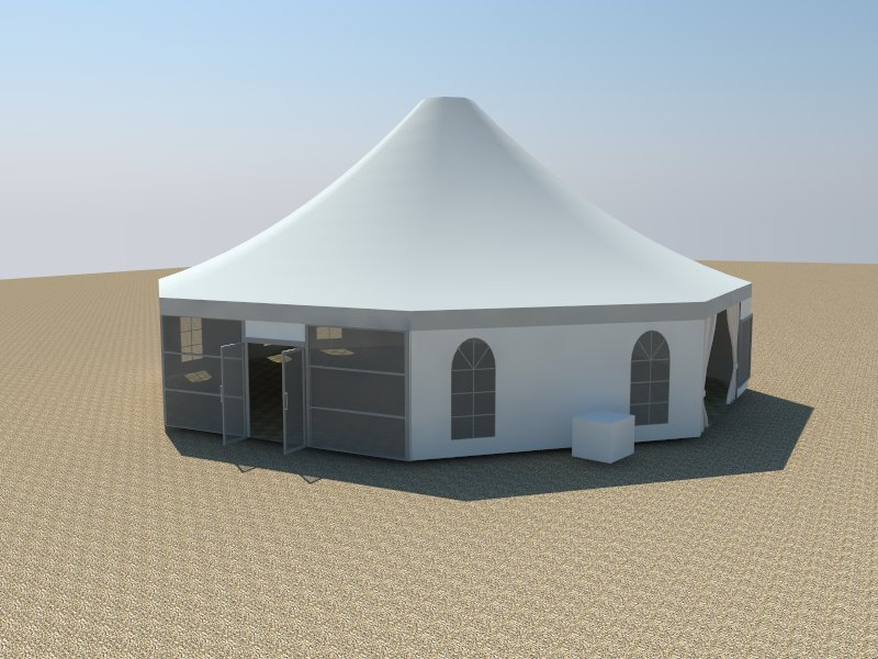 multi sided tent
