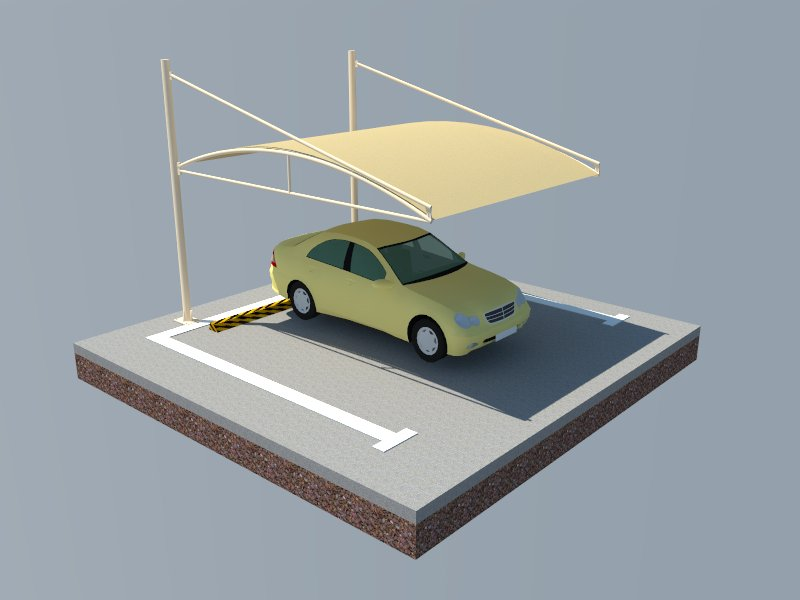 Cantilever Car Parking Shades