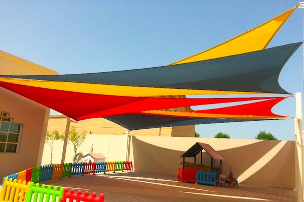 tensile structure for Schools in UAE
