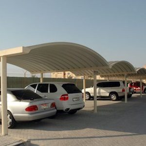 k span car parking shades in UAE