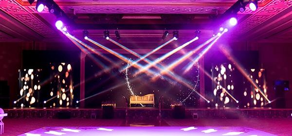 outdoor wedding lighting rentals in uae