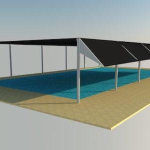 swimming pool shades in UAE