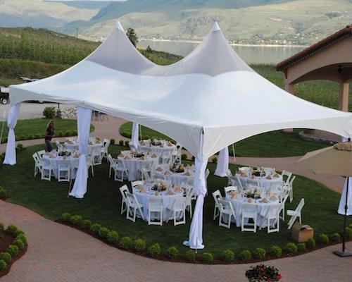Pagoda wedding tent rentals