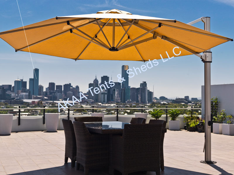 AKAA Tents And Sheds LLC Supply Wide Variety Of Patio Umbrella Shade As Per  The Client Requirements. We Offer Cantilever Umbrella Shades And Large ...