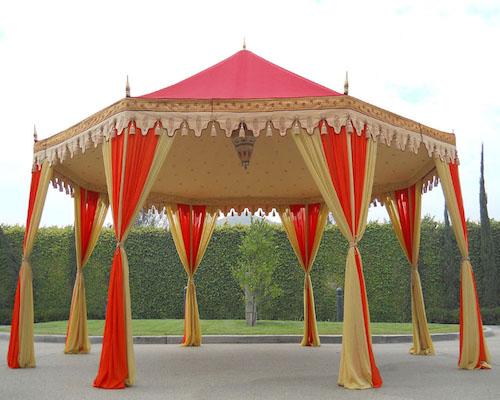 traditional wedding tent rentals