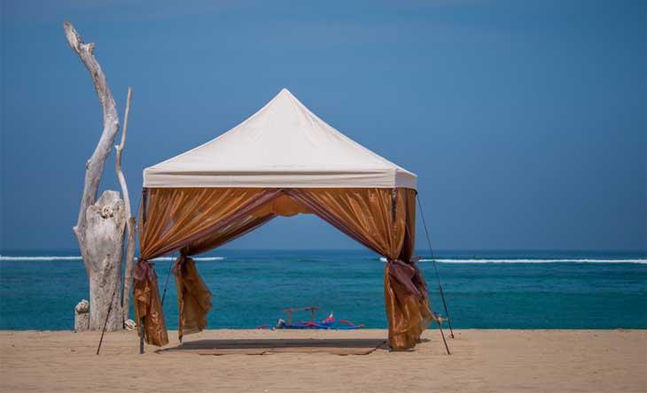 Pinnacle Beach Tent & Beach Shades - 4 Best Designs for Beach Sun Shades