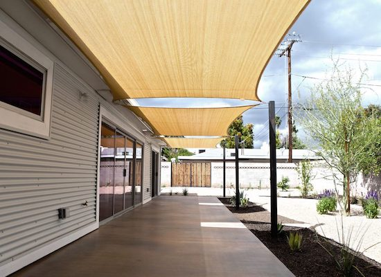 Sail shades | outdoor patio sun shades