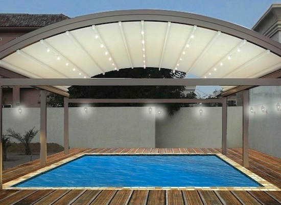 swimming pool shades - AKAA Tents and Shades LLC