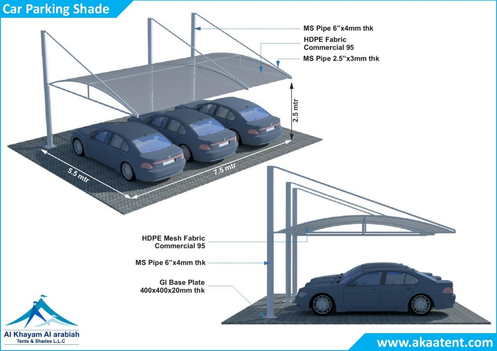Car parking Shades UAE Dubai