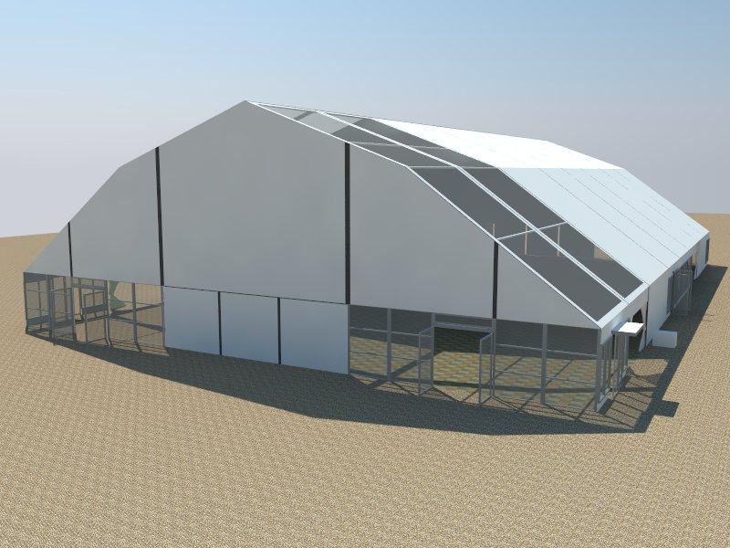 polygon tent