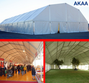 Polygon tent for wedding