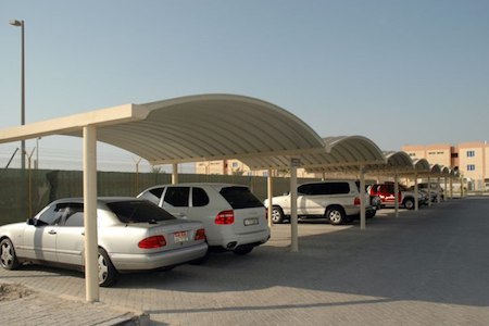 K Span Car Parking Shades Manufacturers In Uae Dubai K Span Design