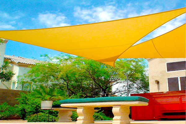 out door tensile structure