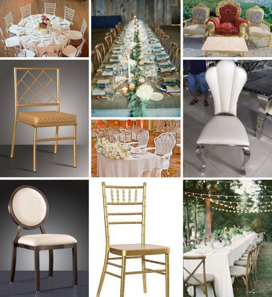 tables and chairs rentals