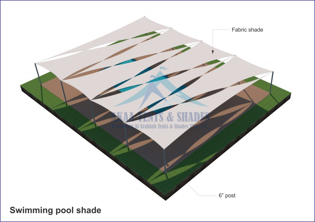 swimming pool shades in UAE Dubai