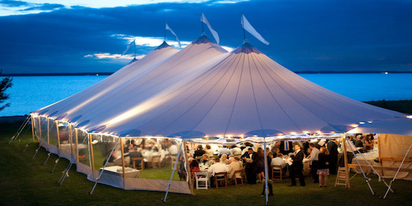 traditional wedding tent rentals
