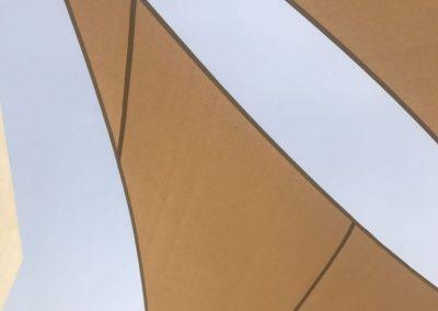 Sail Shades Installation in Abu Dhabi for Al Salam School