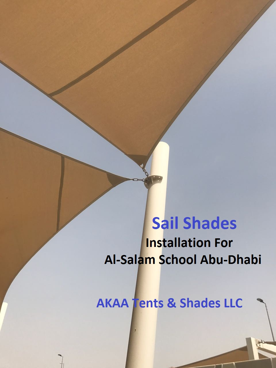 sail shades installation in Al Ain