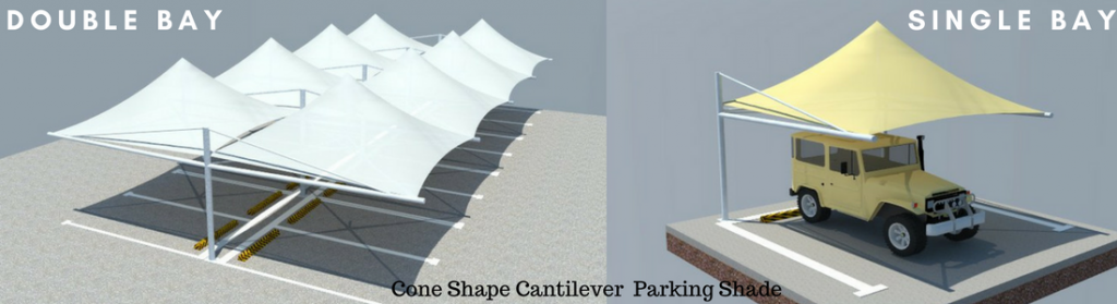 Cantilever parking shades in uae