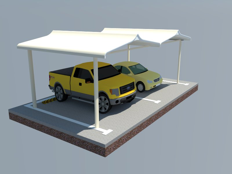Grp Car Parking Shades In Dubai Unique Design Parking Shades