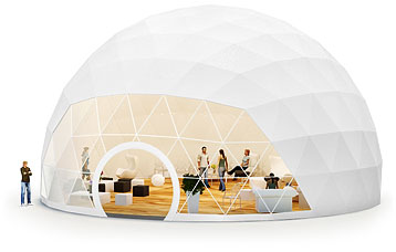 dome tent for wedding