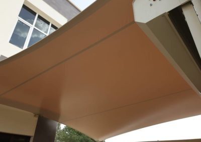 Car parking shade installation for 6 villas in Mirdif Dubai