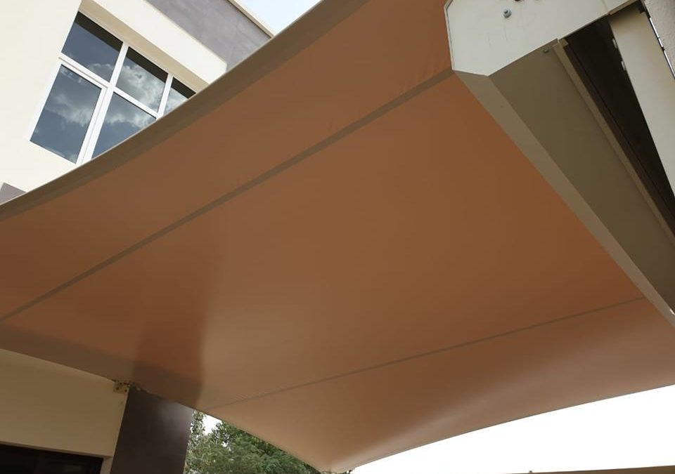 Car parking shade installation for 6 villas in Mirdif Dubai