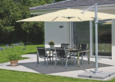 Cantilever Umbrella Shades Square Design