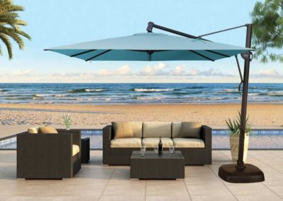 Cantilever water base Umbrella