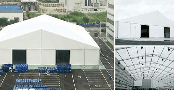 Outdoor Warehouse Tents